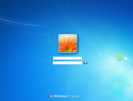 Inlocuire fundal pagina de login Windows 7